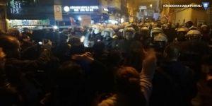 Gece Yürüyüşü'nde kadınlara polis müdahalesi