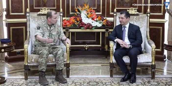 Mesrur Barzani, koalisyon heyeti ile görüştü
