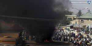 Akaryakıt tankeri pazar yerine daldı: 20 ölü