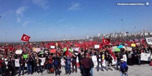 İstanbul'da EYT mitingi
