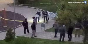 Çocuk parkında kadın cinayeti