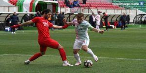 Seyircisiz karşılaşmada Amedspor maçtan galip ayrıldı