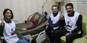 Leyla Güven'in eylemi 136'ncı gününde