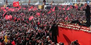 Erdoğan: Yenikapı alanında 1 milyon 600 bin kişi var