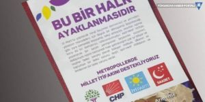 Antalya'da dört parti imzalı korsan bildiri