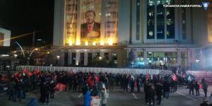 AK Parti Genel Merkezi'nde veriler ekrana yansıtılmadı