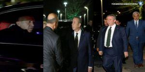 Mansur Yavaş, protokolle Erdoğan'ı karşıladı
