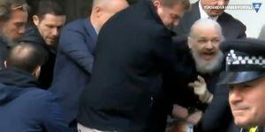Julian Assange'a Londra'da gözaltı