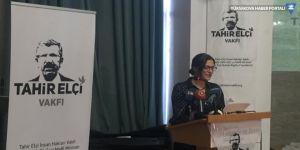Tahir Elçi İnsan Hakları Vakfı açıldı: Koca boşluk vakfımızın varlık sebebi