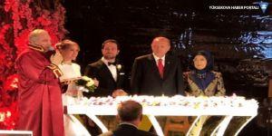 Demirören-Kalyoncu'nun nikah şahidi Erdoğan