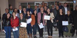 Yüksekova'da mazbatalar verildi