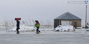 Yüksekova Nehil deresi taştı: Evler tahliye ediliyor