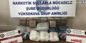 Yüksekova'da 27 kilo 540 gram uyuşturucu ele geçirildi
