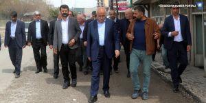 Eş Başkan Avcı, Erciş'te çalışmaları denetledi