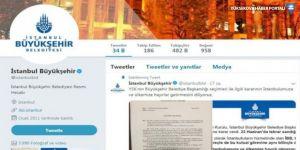 İmamoğlu'yu takipten çıkaran İBB Twitter hesabı eriyor