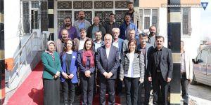 Eş Başkanlar Ertan ve Avcı'dan Başkale ziyareti