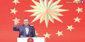 Erdoğan: Sanatçılarımızı da tehdit ettiler