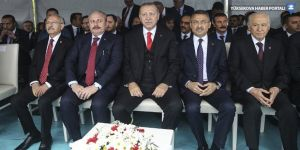 Erdoğan ve Kılıçdaroğlu 19 Mayıs töreninde