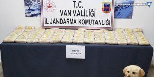Başkale'de 51 kilo 566 gram eroin ele geçirildi