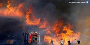 IŞİD: Yangınları biz çıkardık