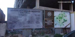 Billboardlara asılan kayyum borç durumu toplatıldı