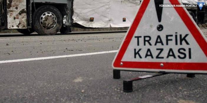 Cizre'de trafik kazası: 3 ölü, 2 yaralı