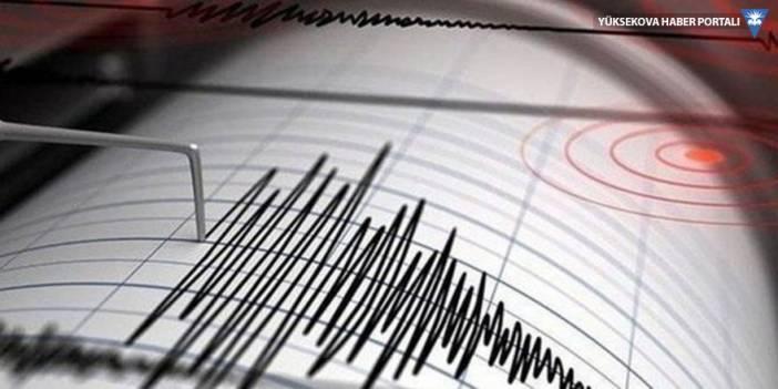 İran'da deprem: Şemdinli'de hissedildi