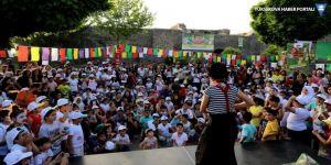 Sur çocuk festivali başladı