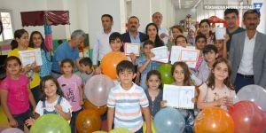 Hakkari Çocuk Oyun ve Kültür Merkezinde karne günü etkinlikleri