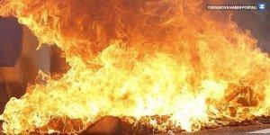 Kürt bölgesinde yangın: 9 kişi öldü
