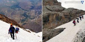 3 bin rakımlı Sümbül Dağı'na tırmandılar