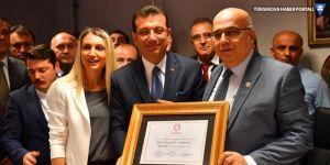 İmamoğlu Belediye Başkanlığını devraldı