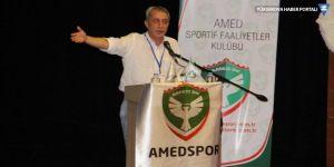 Amedspor'un başkanı Metin Kılavuz