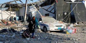 Libya'da savaş kızışıyor: Hava saldırısında en az 30 göçmen öldü