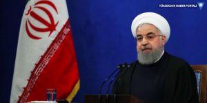Ruhani: Baskı altında müzakereleri kabul etmiyoruz