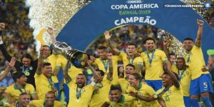Kupa Amerika'da Şampiyon Brezilya oldu