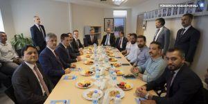 Adalet Bakanı Gül Diyarbakır Barosu'nu ziyaret etti