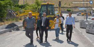 Eş Başkan Karaman, çalışmaları denetledi