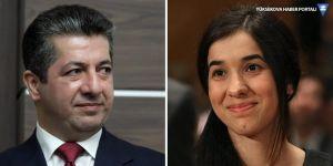 Nadia Murad'dan Mesrur Barzani'ye Ezidi Kürtlerle ilgili talep