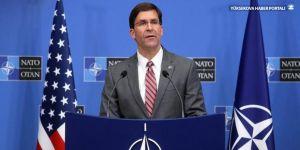 Esper: Güvenli bölgede ABD askeri olmayacak