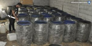 5 bin 400 litre sahte içki bulundu