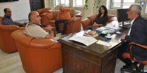 Cilo Dağcılık ve Doğa Sporları Kulübü'nden Eş Başkan İrfan Sarı'ya ziyaret
