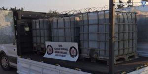 2 bin litre kaçak akaryakıt ele geçti