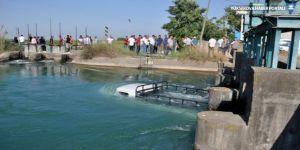 Kanala düşen beş kişiyi kurtaran sürücü boğuldu