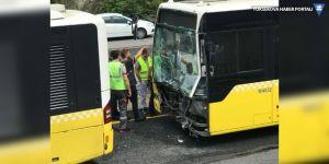 Üsküdar'da metrobüs kazası: 11 yaralı