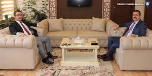 Vali Akbıyık'tan Başsavcı Çınar'a ziyaret
