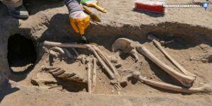 Van'da kafatassız iskelet bulundu