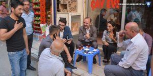 Eş Başkanlar Karaman ve Armut esnaf ve vatandaşları dinledi