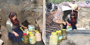 Hakkari'deki mağaralar 'doğal buzdolabı'