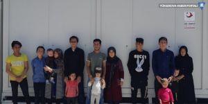 Van'da 14 göçmen yakalandı